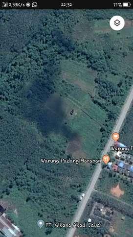 Di jual tanah pinggir jalan A,Yani km 68 mataraman kab.banjar