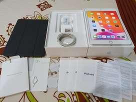 Ipad mini 5 WIFI CELL 64gb grey gray LIKE NEW fullset + Book Case TG