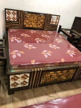 King size bed on instalment at very affordable price