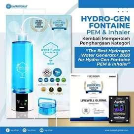 Hydrogen fontaine PEM & INHALER Generasi 2