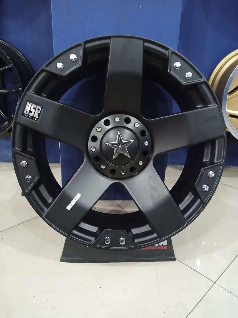 Veleg mobil racing Pajero R20 HSR Rasta Ring 20 Lubang 6x139,7 Hilux