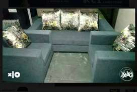 Free delivery:: Attractive 3+1+1 Sofa set clearance Sale