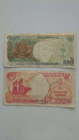 Uang Kuno asli Indonesia