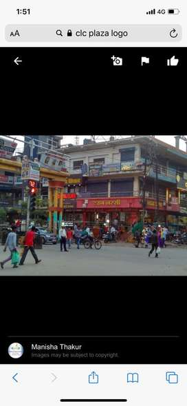 200sq.ft north east facing shop in first floor, Clc plaza, mangla chwk