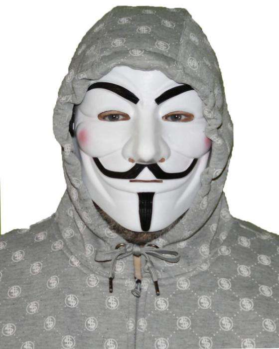 Mask Topeng Anonymous 0