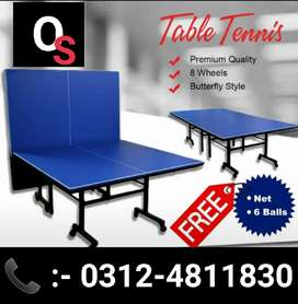 Table Tennis Table Leminated (Pack of 10)