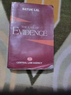 Law of Evidence by Batuklal 2015 Edition