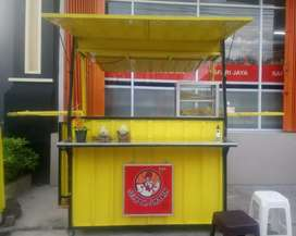 Booth Container, rombong kekinian