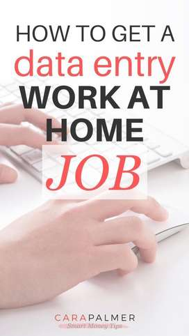 Data entry part time work