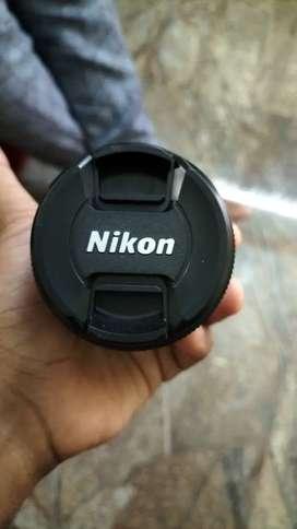 Nikon D3300 camera lens 18-55mm 1:3.5-5.6G For sale