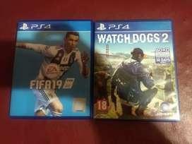 Jual BD Fifa 2019 dan Watch Dogs 2