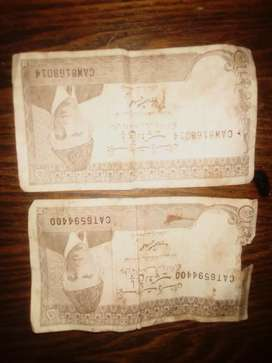 5 rupees note 2 available