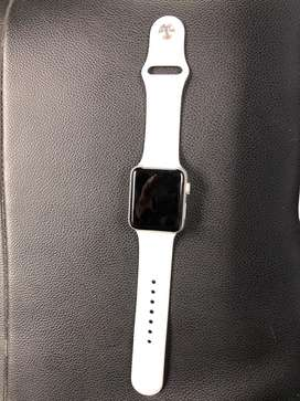 Apple iwatch 3 series 42 mm ion-x glass GPRS 12 Day old only