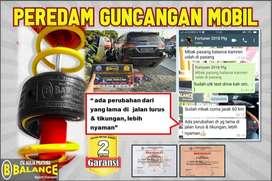 DAMPER Bersertifikt UGM Merk BALANCE Atasi LIMBUNG di Mobil