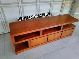Ready Buvet Tv Minimalis Bahan Kayu Jati Monggo @689