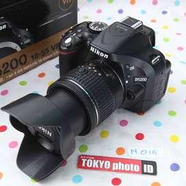 Nikon D5200 lensa 18-55mm (D518)