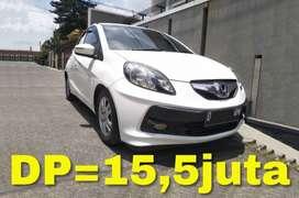 Honda BRIO E 1.3 CBU A/T (Matic)   Bisa Kredit TDP=15,5juta
