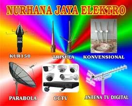 Produk Dalam Negeri Kualitas Hd, Pemasangan Sinyal Antena TV.