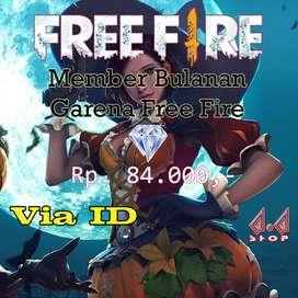Member Bulanan Garena Free Fire
