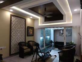 Gypsum board ceiling and partition work