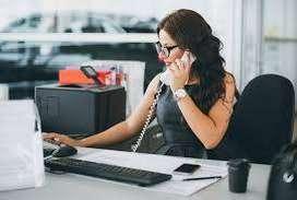 need personal secretary to boss