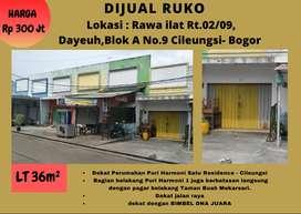Dijual Ruko di Rawa ilat RT.02/RW.09 Dayeuh, Blok A, Cileungsi, Bogor