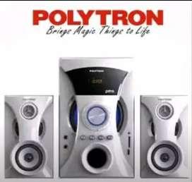 Polytron PMA-9505 Speaker BerGaransi satu2nya, Garansi bisa perpanjang