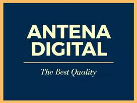 Pasang Antena TV UHF HD-12 ANTENNA DIGITAL Terdekat Pematang