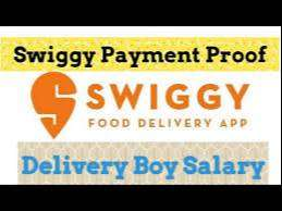 delivery in swiggy no bike can apply