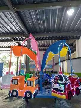 odong odong fiber plat kereta panggung komedi putar safari DCN