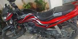 Hero passion xpro 110 cc bike, single use,