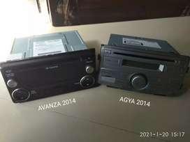 Tape Audio Toyota Avanza dan Toyota Agya 2014