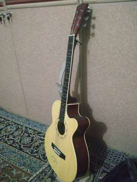 Accustic guitar with beg and belt Quetta