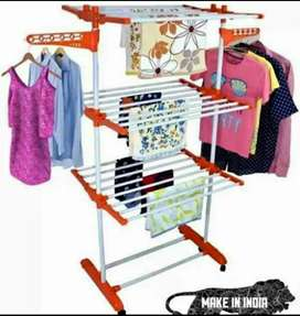 Cloth Stand or Cloth Drying Stand Powder Coated Folding