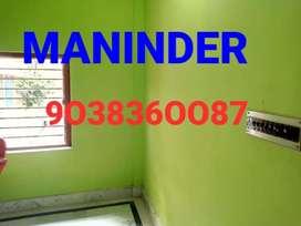 MANINDER KESTOPUR 1BHK 1RK FLAT ( NEGOTIABLE RATE keshtopur )