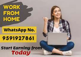 Anyone can earn Rs.10,000 every week from home. Typing job.