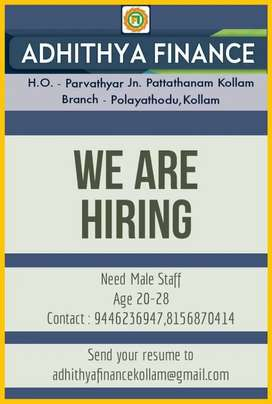 Need Male Office Assistant