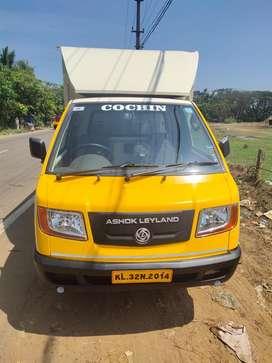2018 Model Ashok Leyland Dost covered body
