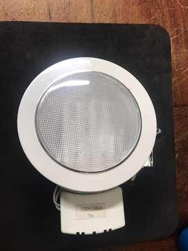 Lampu Downlight QMA 8-7watt.