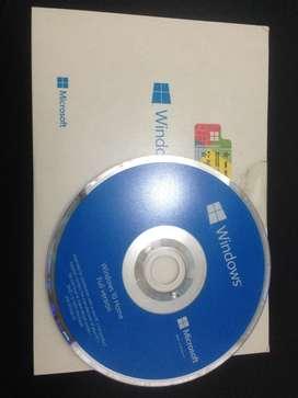 CD Windows 10 64bit Home Full Version Original