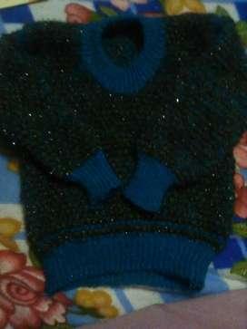 Green sweter