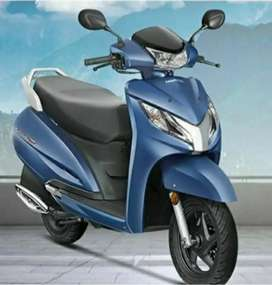 New Activa 125 BS6 blue color for sale
