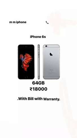 iPhone 6s With Bill&box&Waranty