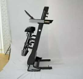 Treadmill elektrik 3 Fungsi Genova baru