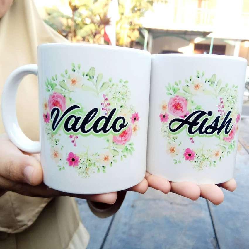 Mug Custom Standard   Custom Mug Gambar bebas   HADIAH ULANG TAHUN   H