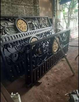 Kami bengkel las beroka nerimah pembuatan pagar tempa @4548