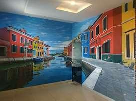 Lukis Dinding Mural TOP