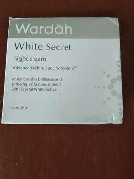Wardah night cream
