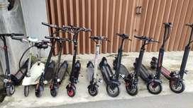 Berbagai macam scooter Electric