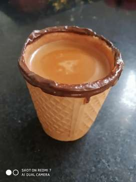 Biscuit cup